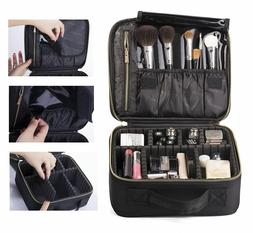 ROWNYEON Professional Makeup Train Case/Travel Hard Case/Mak