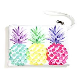 "Me Plus Pu Leather ""Pineapple"" Print Travel Organizer, Cosme"