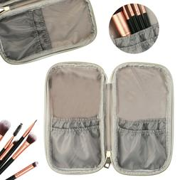 PU Marble Cosmetic Travel Makeup Brush Handbag Case Bag Brus