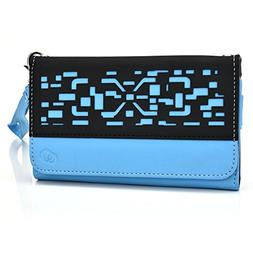 Sky Devices 5.0Q Phone case wristlet with I.D holder and Coi