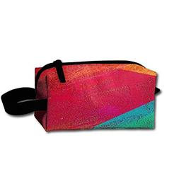 Rainbow Love Toiletry Bag Cosmetic Bag Accessories Pouch Lar