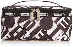 LeSportsac Rectangular Train Case Cosmetic Bag, Love Is Bold
