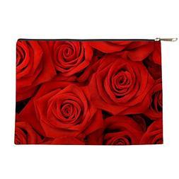 CafePress - Red Roses - Makeup Pouch
