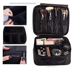 ROWNYEON Makeup Bag Cosmetic Case Travel Organizer/Mini Make