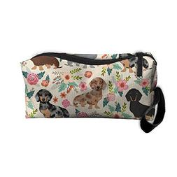 Sausage Dog Dachshund Makeup Bag Cosmetic Bag Accessory Case