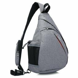 Magictodoor Sling Bag Travel Backpack Wear Over Shoulder or