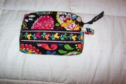 """VERA BRADLEY  SMALL COSMETIC BAG IN """"MIDNIGHT WITH MICKEY"""" ."""