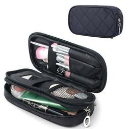 Small Makeup Bag For Purse Mirror Mini Pouch Travel Organize
