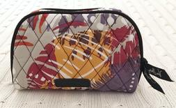 Vera Bradley Small Zip Cosmetic Bag Painted Feathers Travel