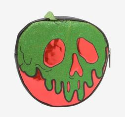 🍎 Snow White Makeup Bag Poison Apple Tote Cosmetic Case D