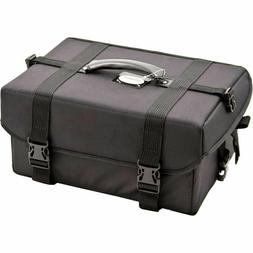 Sunrise Soft-Sided Professional Makeup Case with 4 Extendabl