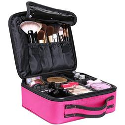 Luxspire Makeup Cosmetic Storage Case, Professional Make up