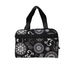 Thirty One Cosmetic Make Up bag Tote Handle Women toiletries
