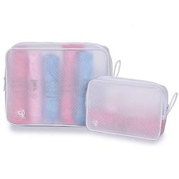 Set of 2 Toiletry Bag Organizer for Men and Women - Classy D