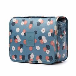 HaloVa Toiletry Bag Multifunction Cosmetic Bag Portable Make