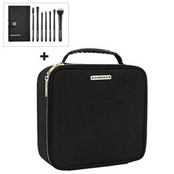 "SONGMICS 10.1"" Makeup Cosmetic Case Organize travel Train Ca"