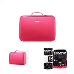 Train Cases Gift Gifts For Women ROWNYEON PU Leather Makeup