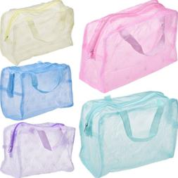 Transparent Waterproof Cosmetic Bag Toiletry Bags Skin Care