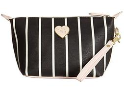 Betsey Johnson Women's Trapezoid Cosmetic Stripe One Size