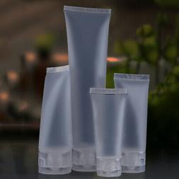 Travel Bag Empty Clear Tube Cosmetic Cream Lotion Containers