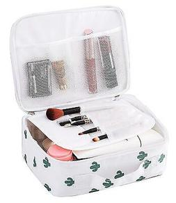 Travel Cosmetic Bags Makeup Case, Portable Brushes Toiletry