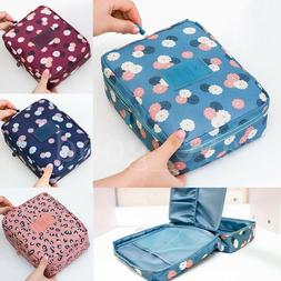Travel Cosmetic Makeup Bag Toiletry Case Storage Hanging Pou