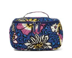 Vera Bradley Travel Cosmetic Makeup Case African Violet