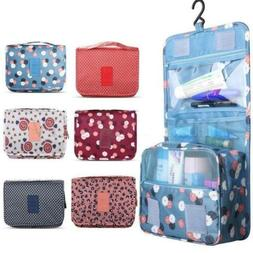 Travel Cosmetic Makeup Toiletry Case Wash Organizer Storage
