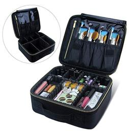 Travel Makeup Bag Profression Organizer Case Accessories Too