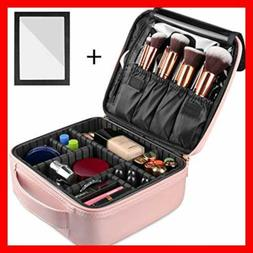 Rosmax Travel Makeup Case Portable Organizer Bag Cosmetic Tr