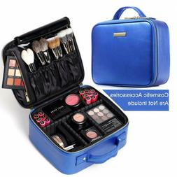 ROWNYEON Travel Makeup Train Case Makeup Bag Organizer Porta