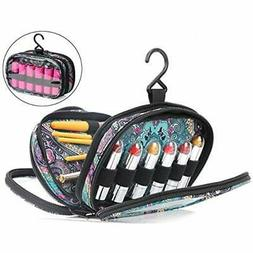 Travel Refillable Containers Cosmetic Bag With Hook - Three-