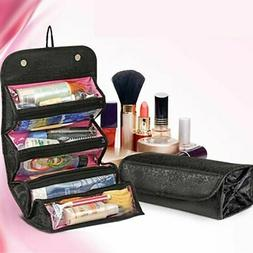 Travel Roll-up Cosmetic Makeup Case Pouch Storage Organizer