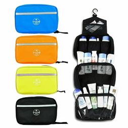 travel toiletry organizer case hanging cosmetic makeup