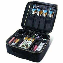 Train Cases Travel Makeup Case, Chomeiu- Professional Cosmet