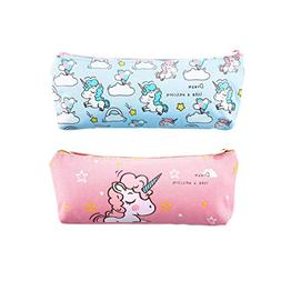 Unicorn Pencil Case Big Capacity Pen Bag Makeup Pouch Durabl