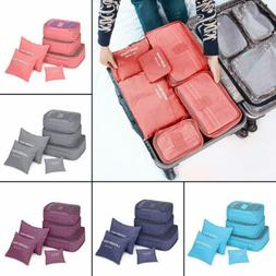 US 1Set Travel Storage Organizer Bag Waterproof Clothes Pack