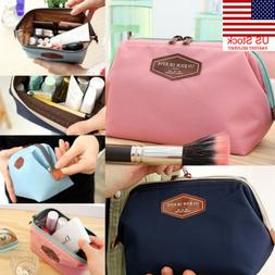 US Beauty Travel Cosmetic Bag Women Multifunction Makeup Pou