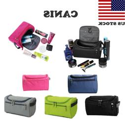 US Men Women Travel Bags Toiletry Organizer Shaving Cosmetic