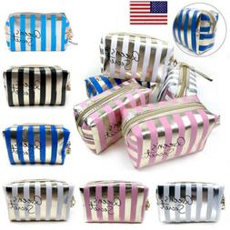 US NEW Travel Makeup Storage Bag Wash Cosmetic Pouch Toiletr
