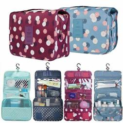 US Travel Cosmetic Makeup Toiletry Case Wash Organizer Stora