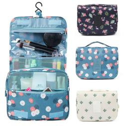 US Travel Makeup Cosmetic Bag Toiletry Wash Case Organizer S
