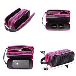 Versatile Travel Makeup Bag LARGE Cosmetic Pouch Organizer F