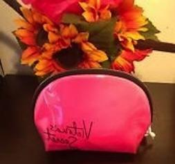 Victoria 's secret Hot Pink Makeup Bag -New with Tags