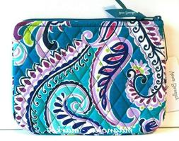 Vera Bradley WAIKIKI PAISLEY COSMETIC CASE Makeup Bag Travel