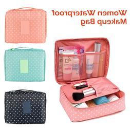 Waterproof Makeup Bag Cosmetic Bags Travel Toiletry Wash Cas