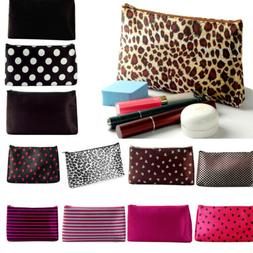 WOMEN COSMETIC MAKE UP TRAVEL TOILETRY BAG PORTABLE CASE WAS