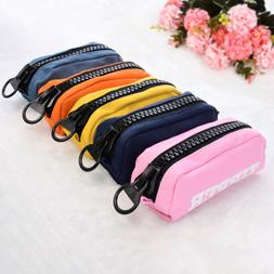 Women Girls Makeup Bag Pencil Case Pen Box Stationery Cosmet