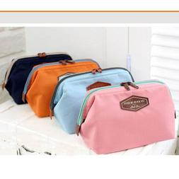 Women's Toiletry Make Up Cosmetic Bag Pouch Handbag Purse Or