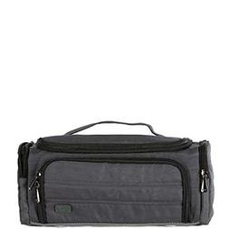 Lug Women's Trolley Toiletry Bag, Compact Travel Case, Brush